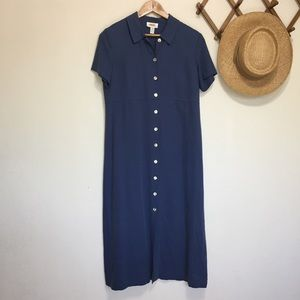 Talbots Button Down Market Dress
